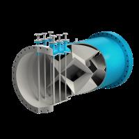 Agitateur statique tube - X550 series blue
